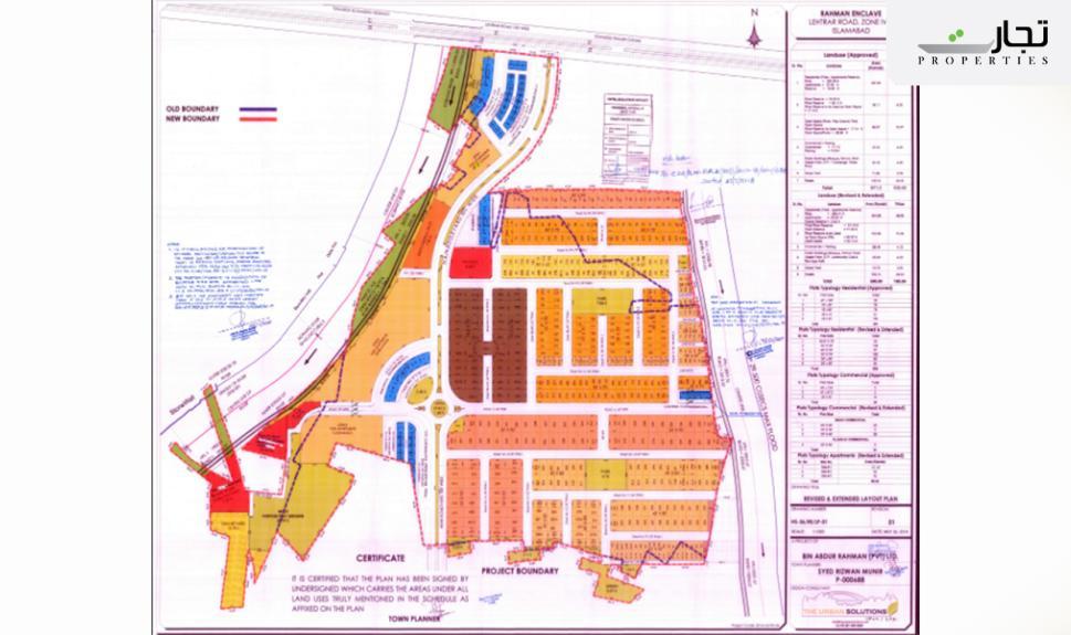 Rahman Enclave Masterplan