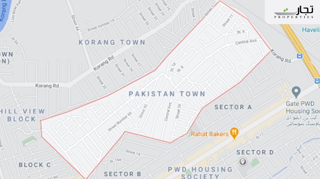 Pakistan Town Islamabad Location