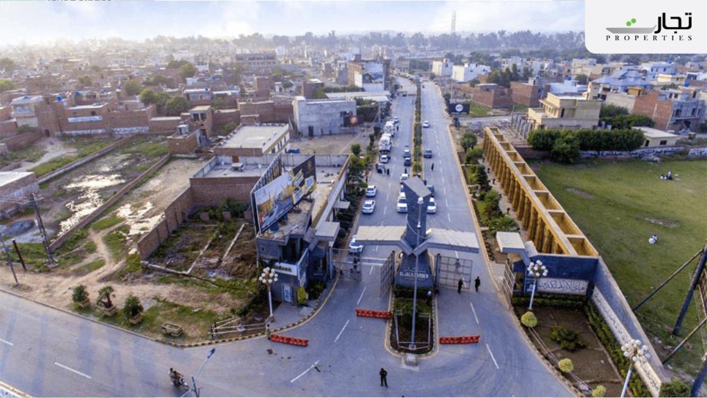 Al Jalil Garden Lahore Master Plan