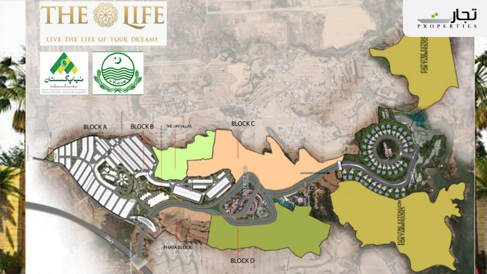 The Life Residencia Masterplan