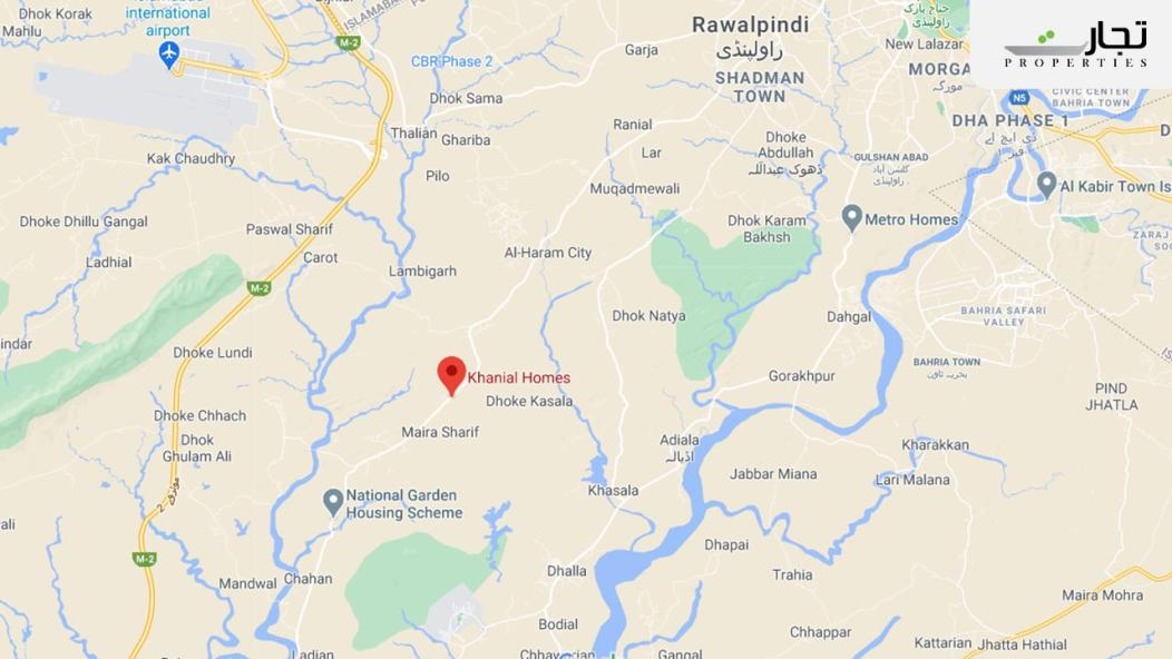 Khanial Homes Location