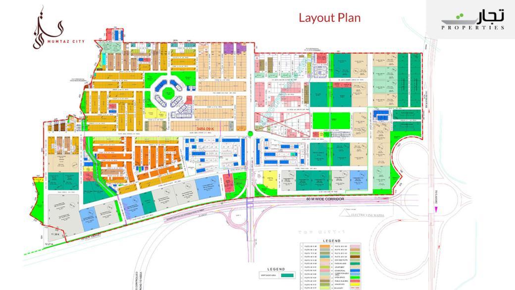 Mumtaz City Islamabad Master Plan