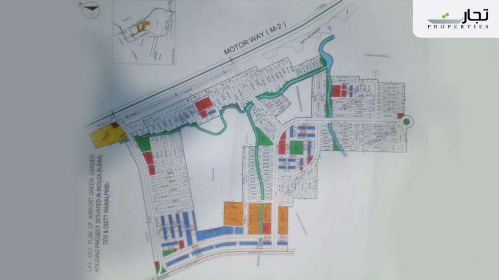 Airport Green Garden Islamabad Master Plan