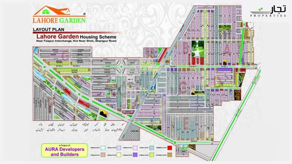 Lahore Garden Housing Scheme Master Plan