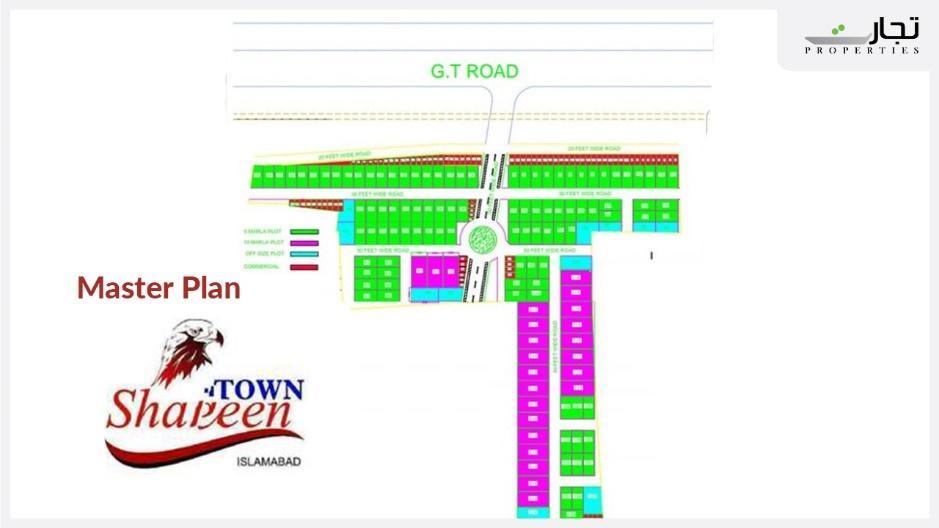 Shaheen Town Islamabad Master Plan