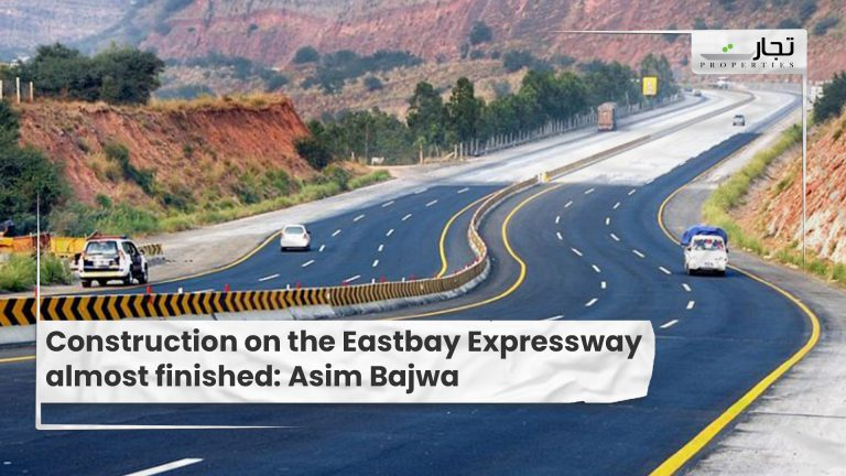 Construction on the Eastbay Expressway almost finished Asim Bajwa