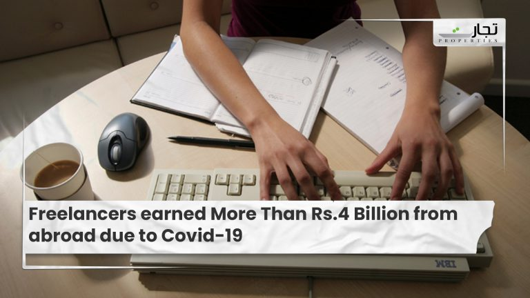 Freelancers earned More Than Rs.4 Billion from abroad due to Covid-19