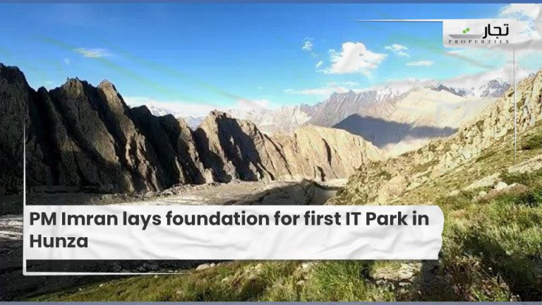 PM Imran lays foundation for first IT Park in Hunza