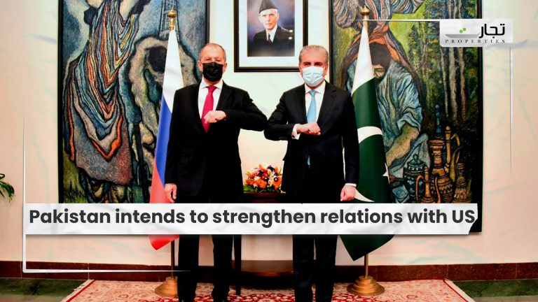 Pakistan intends to strengthen relations with US