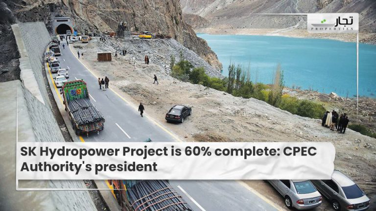 SK Hydropower Project is 60% complete CPEC Authority's president