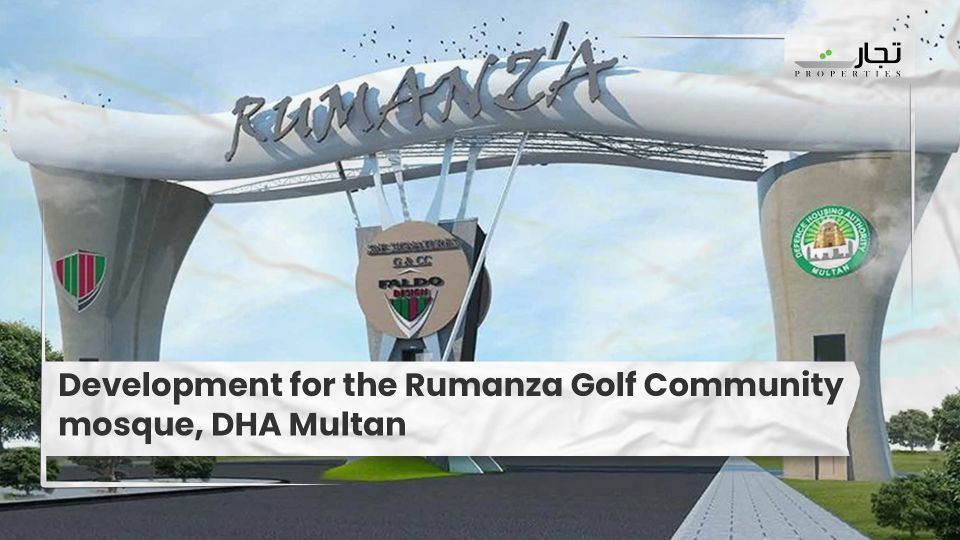 Development for the Rumanza Golf Community mosque, DHA Multan