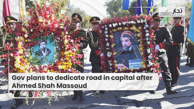 Gov-plans-to-dedicate-road-in-capital-after-Ahmed-Shah-Massoud
