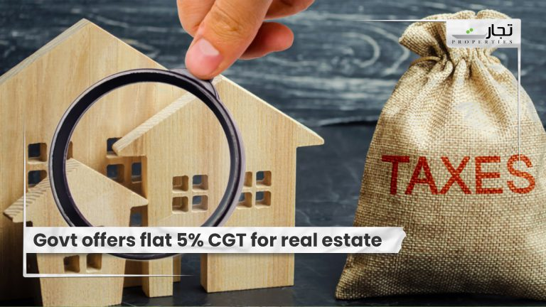 Govt-offers-flat-5-CGT-for-real-estate