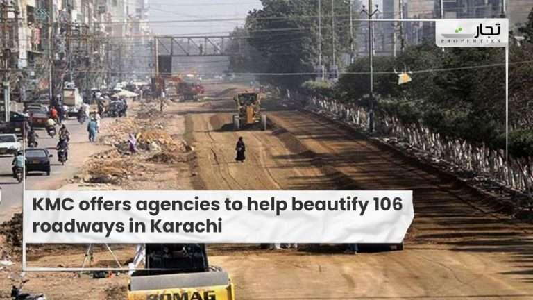 KMC-offers-agencies-to-help-beautify-106-roadways-in-Karachi