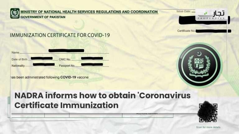 NADRA-informs-how-to-obtain-Coronavirus-Certificate-Immunization
