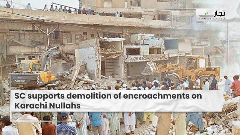 SC-supports-demolition-of-encroachments-on-Karachi-Nullahs