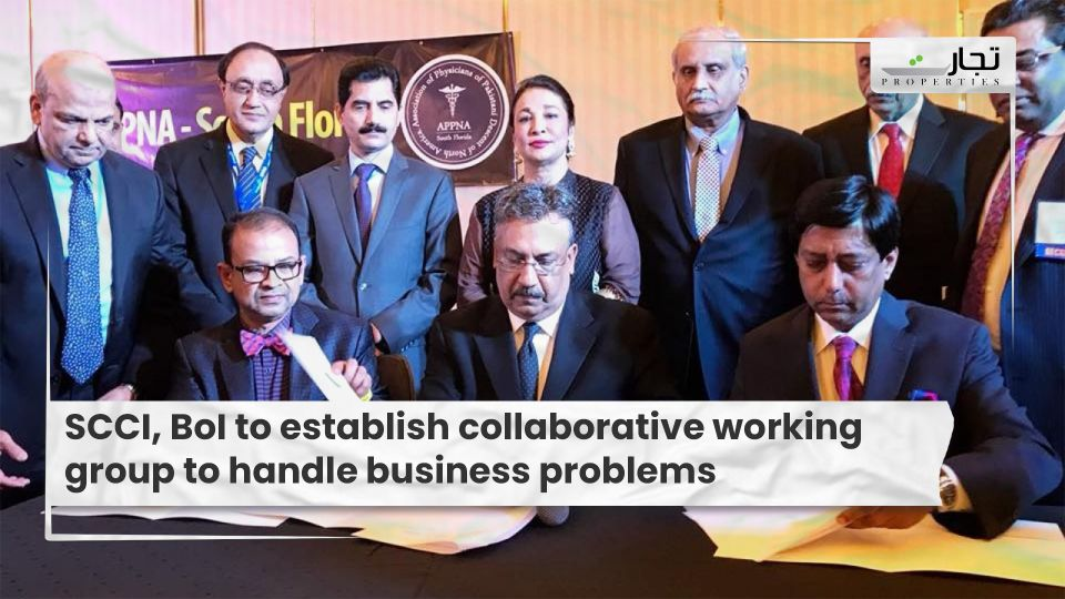 SCCI, BoI to establish collaborative working group to handle business problems