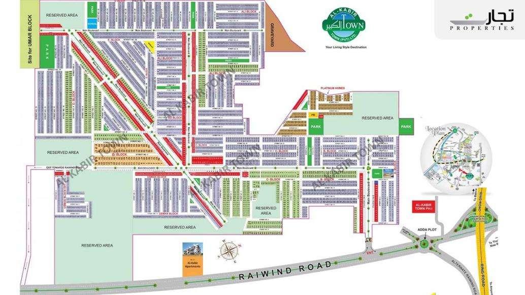 Al Kabir Town Lahore Masterplan