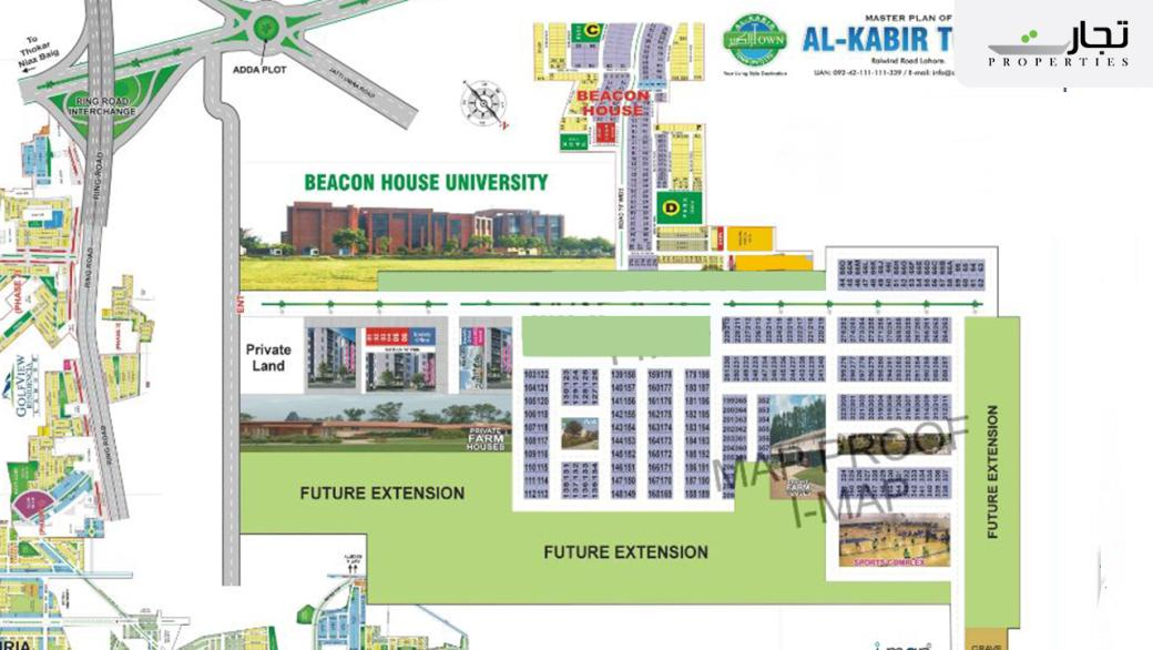 Master Plan Al Kabir Town Phase I