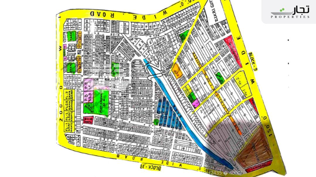 Gulistan-e-Jauhar Karachi Master Plan Block 12