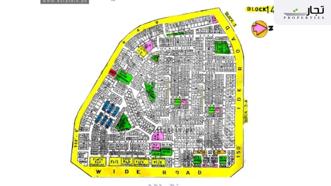 Gulistan-e-Jauhar Karachi Master Plan Block 14