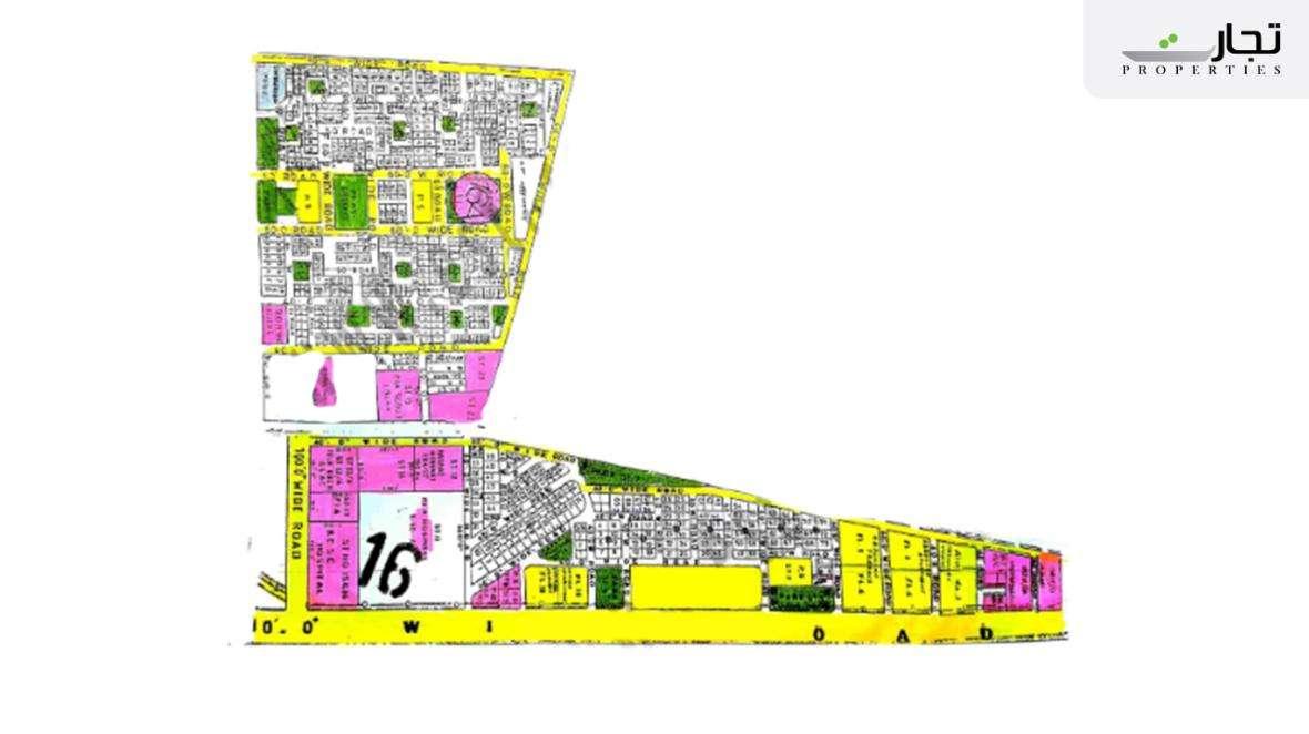 Gulistan-e-Jauhar Karachi Master Plan Block 16