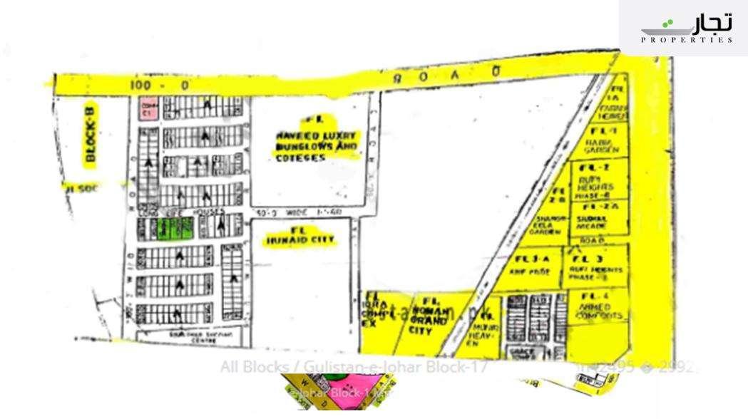 Gulistan-e-Jauhar Karachi Master Plan Block 17