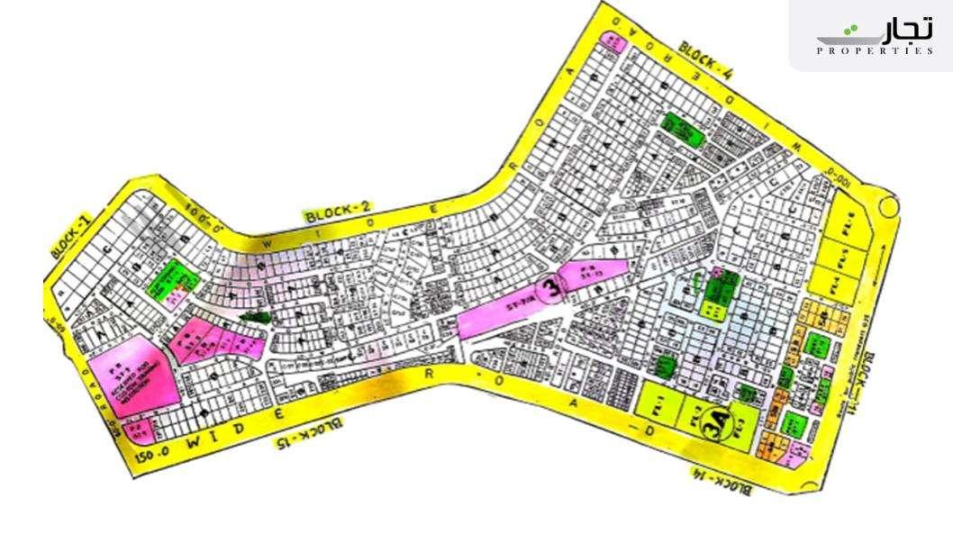 Gulistan-e-Jauhar Karachi Master Plan Block 3