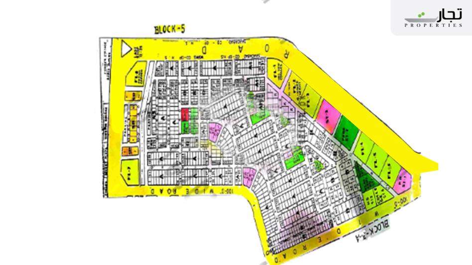 Gulistan-e-Jauhar Karachi Master Plan Block 4