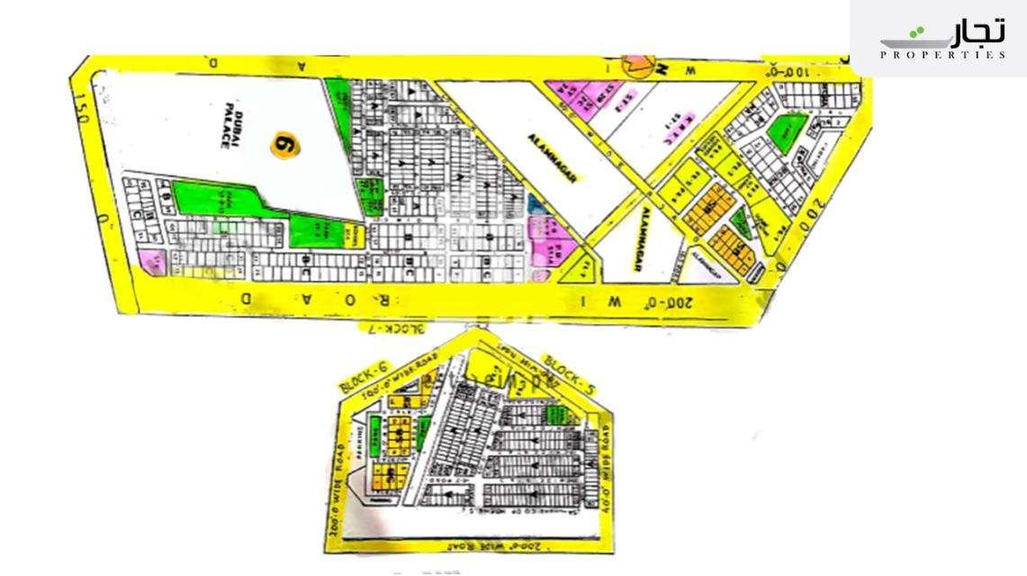 Gulistan-e-Jauhar Karachi Master Plan Block 5