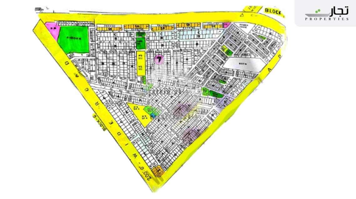 Gulistan-e-Jauhar Karachi Master Plan Block 7