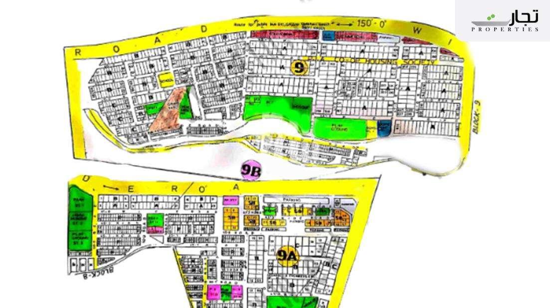 Gulistan-e-Jauhar Karachi Master Plan Block 9