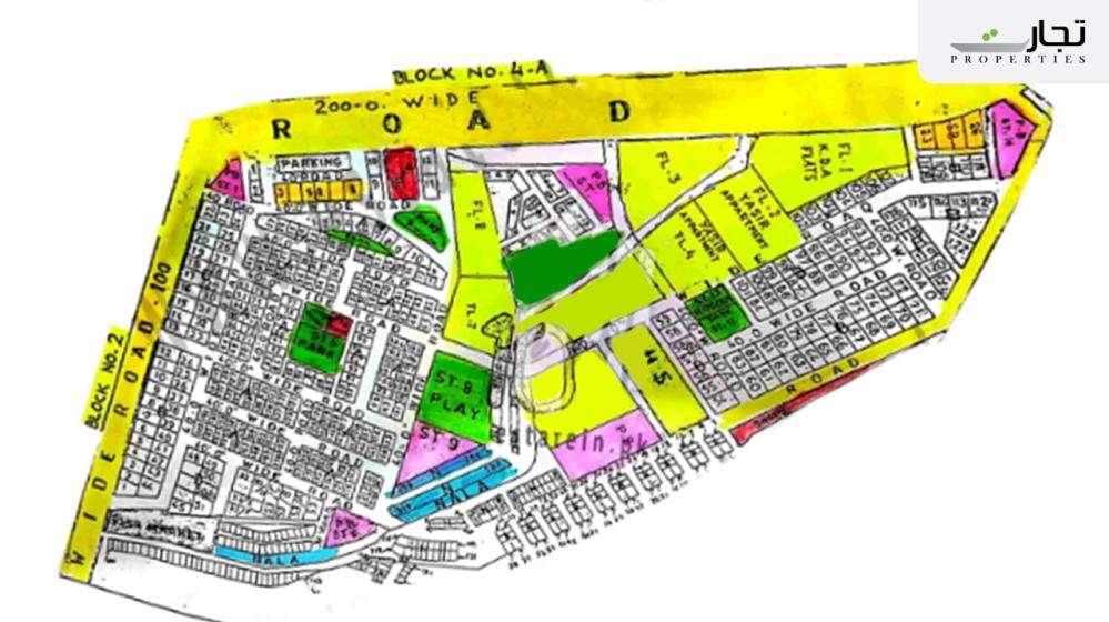 Gulistan-e-Jauhar Karachi Master Plan Block 10