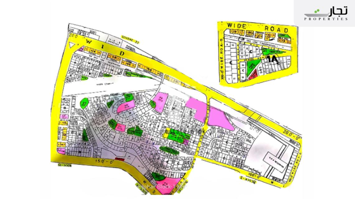 Gulistan-e-Jauhar Karachi Master Plan Block 1