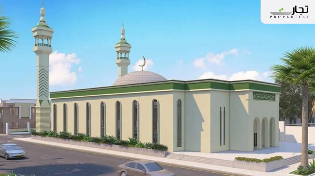 Mosques near shahmir residency