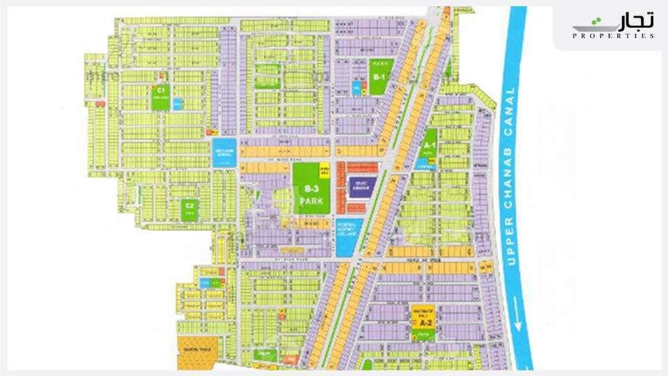 Wapda Town Gujranwala Master Plan