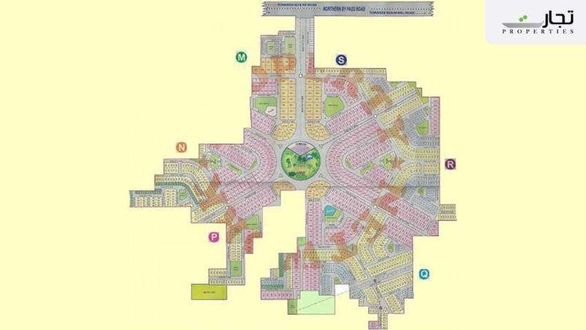 Wapda Town Multan Master Plan