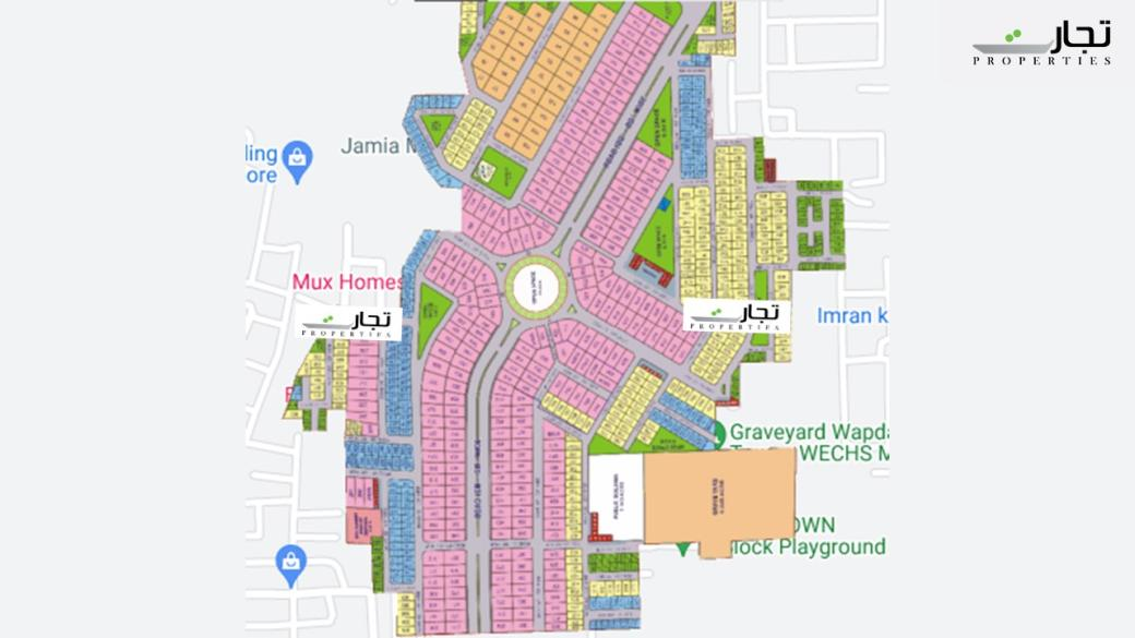Master Plan Phase-III Wapda Town Multan
