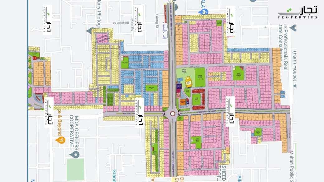 Master Plan Phase-II Wapda Town Multan