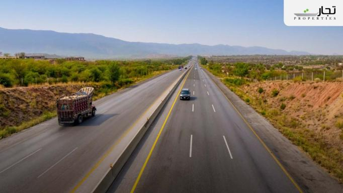 Discovery Garden Islamabad wide carpeted roads