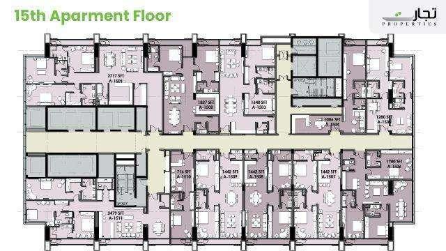 Mall of Islamabad Floor Plan