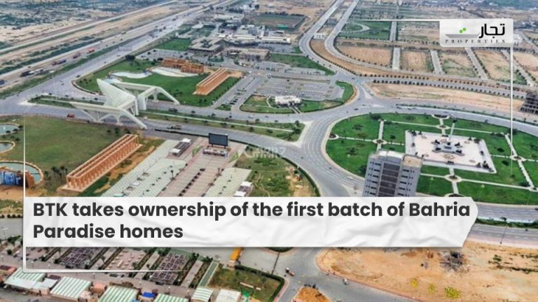 BTK-takes-ownership-of-the-first-batch-of-Bahria-Paradise-homes