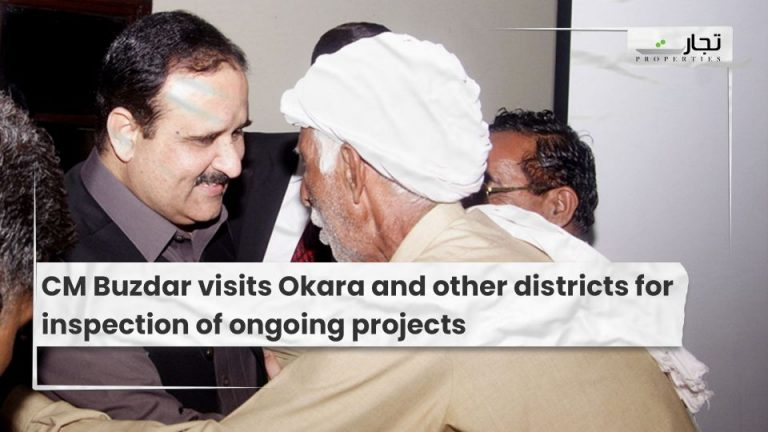 CM-Buzdar-visits-Okara-and-other-districts-for-inspection-of-ongoing-projects