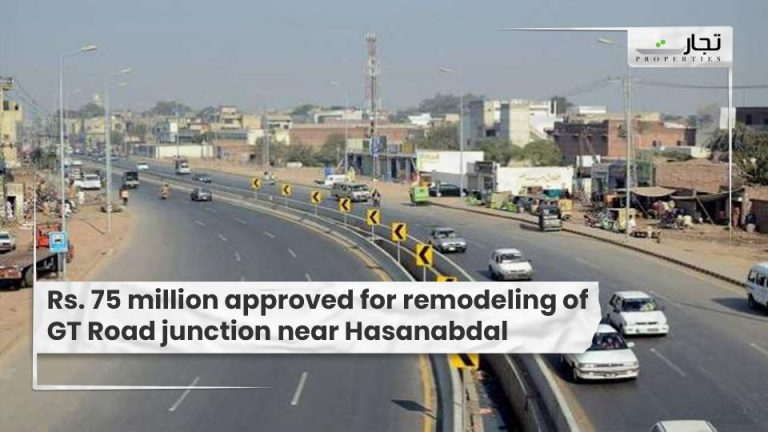 Rs.-75-million-approved-for-remodeling-of-GT-Road-junction-near-Hasanabda