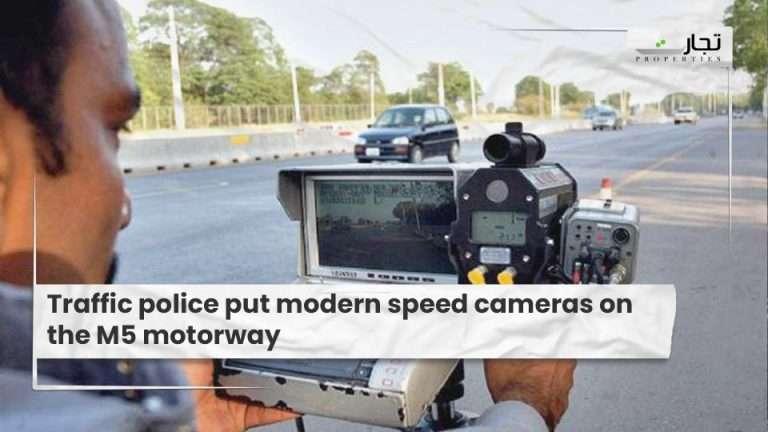 Traffic-police-put-modern-speed-cameras-on-the-M5-motorway