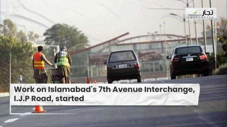 Work-on-Islamabads-7th-Avenue-Interchang