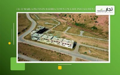 5 & 12 Marla Plots in Bahria Town on Easy Installments