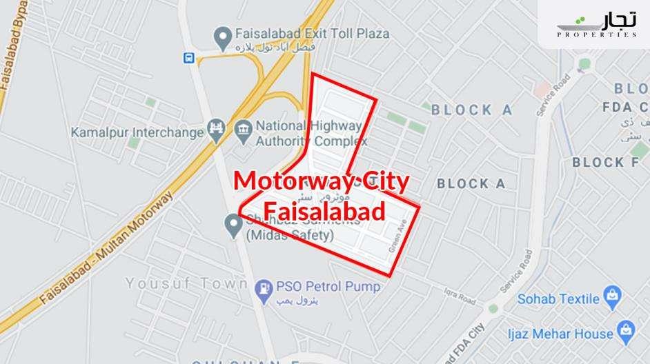 Motorway City Location