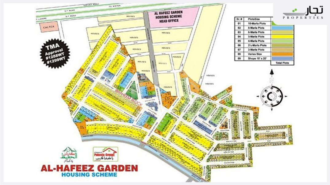Al Hafeez Garden Housing Society Lahore Master Plan