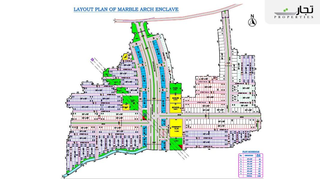 Marble Arch Enclave Islamabad Masterplan